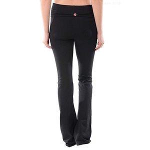 Lululemon Fold Over Flare Boot Cut Yoga Pants